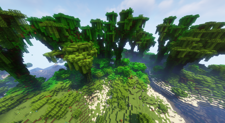 A wild jungle