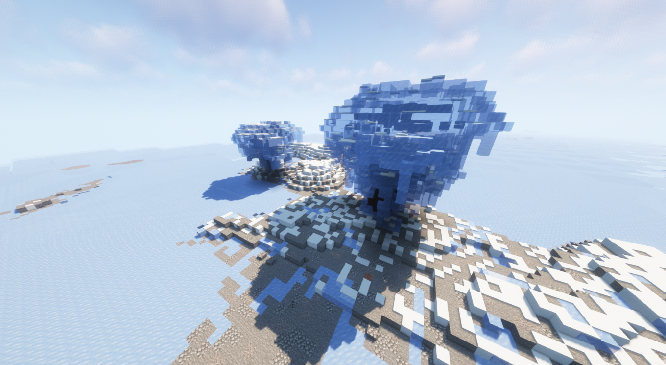 The icy lands