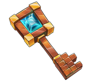 1x Prisoner crate key